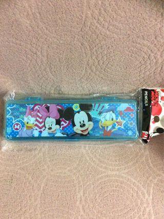 Mickey正品筆盒 Size約6×19 cm