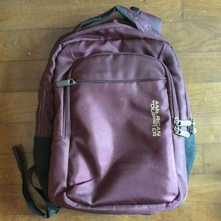 🚚 American Tourister Laptop Backpack - TO BLESS