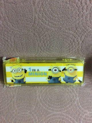 Minions 正品鉛芯筆套裝 一盒$25、2盒$40