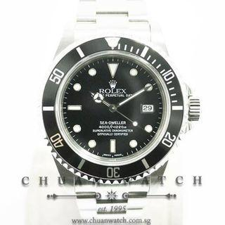 Pre-Owned Rolex Sea-Dweller 16600 - Discontinued