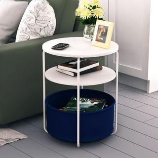 New Arrival Round Side Table / Coffee Table -Basket Included
