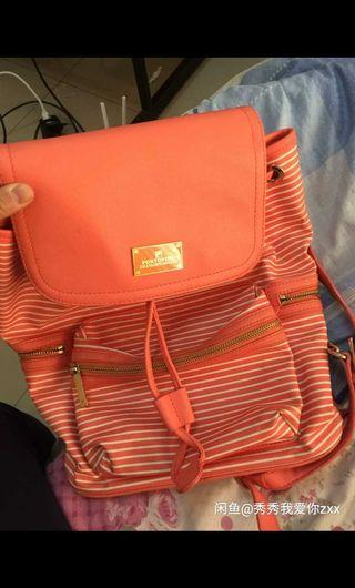 Brand FILA orange backpack