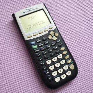 🚚 Ti-84 Plus Graphing Calculator Used Black