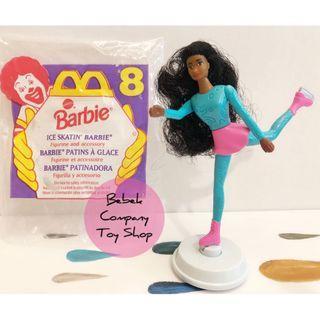 1994 McDonald's Mattel barbie 溜冰芭比 麥當勞 老玩具 芭比娃娃 芭比 絕版玩具 古董玩具