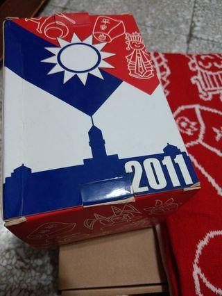 中華民國100年元旦紀念圍巾