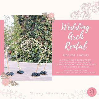 Wedding Arch Rental