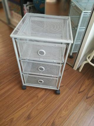 IKEA 3 drawers with wheels