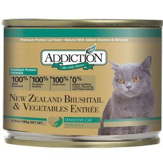 Addiction NZ Brushtail & Vegetables Entree (Cat) 180g
