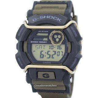 🚚 Casio G-Shock Flash Alert Super Illuminator GD-400-9 GD400-9 Men's Watch