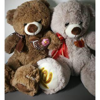 Bear bear 2 in 1 set promotion soft toy plush stuffed toys collectible