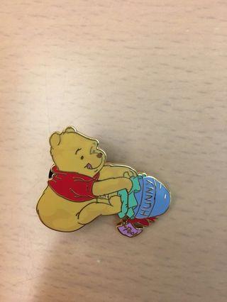 廸士尼 小熊維尼 襟章 Disney Winnie the Pooh Pin