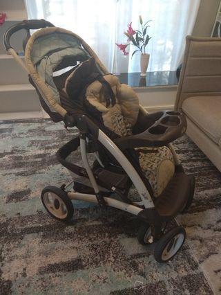 Premium Stroller -Like New !!! Graco Quattro Tour Deluxe