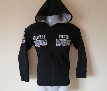 One Piece Zipper Hoodie Jacket