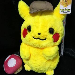 pikachu detective pika pokemon 1 for RM45 promotion soft toy plush stuffed toys