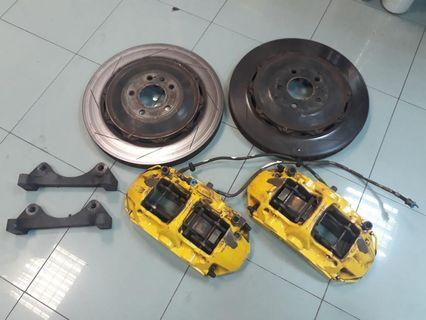 Brembo 6-pot for Audi A4