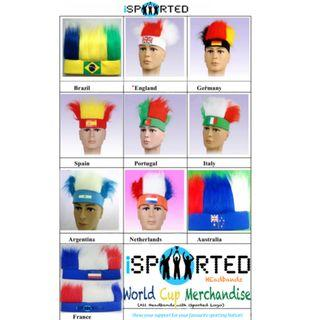 National Team Supporters Headbands by iSported