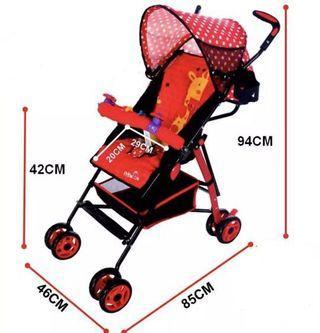Stroller Blue / Red
