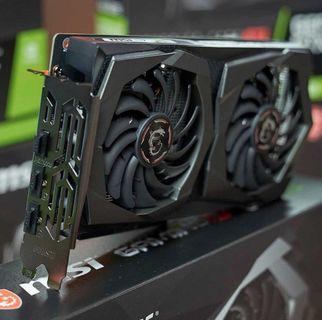 msi gtx 1650 gaming x 4g 100%new