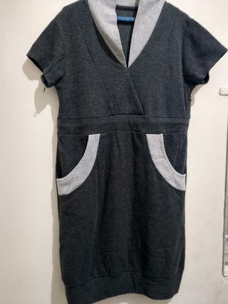 Midi dress dark Grey