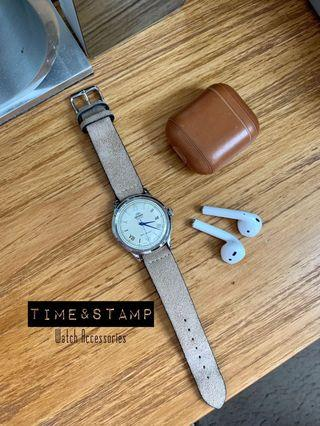 🚚 Leather Watch Straps Made in EU/Singapore (Hodinkee, Bulang and Sons Vintage Style)