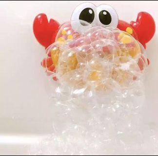 沖涼音樂泡泡 蟹