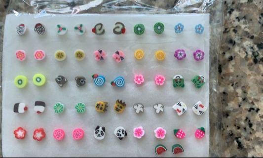 🚚 Cartoon earrings