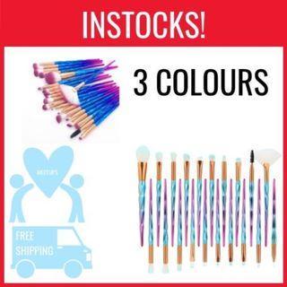 20pc Makeup Brush Set
