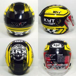 Helmet KYT Single Visor