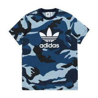 Adidas Navy Camo* Tee/Sweater/Windbreaker