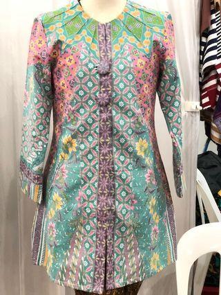 Gorgeous pastel shade batik blouse