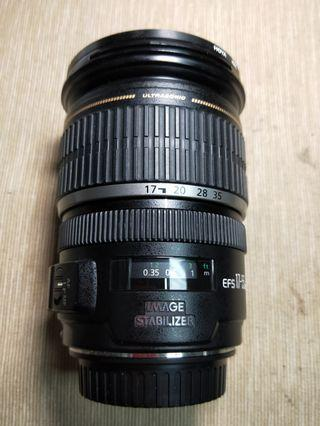Canon Efs 17-55mm f2.8 IS
