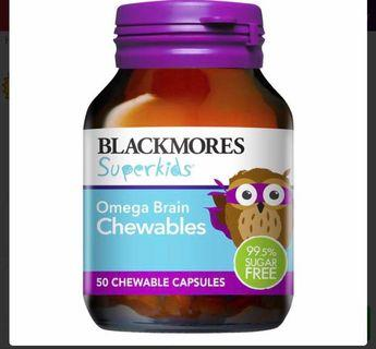 Blackmores Superkids Omega Chewable capsule (preorder)