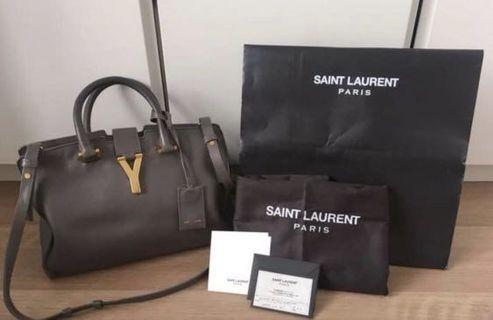 Authentic YSL Cabas Small
