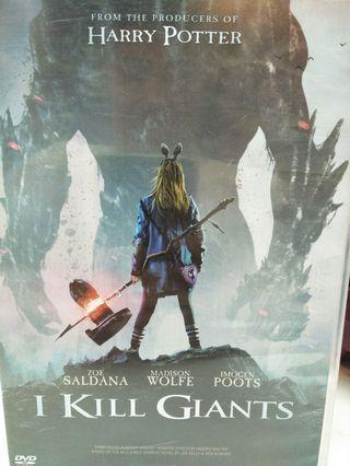 🚚 I kill giants dvd