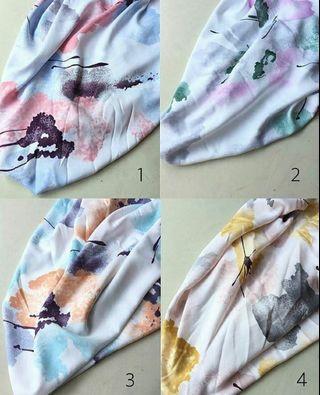 Abstrak Hijab Segi 4