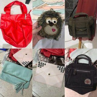 TAKE ALL (BUNDLE) PRELOVED BAGS