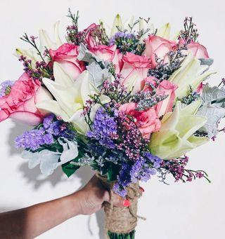 Designer bridal bouquet WD180