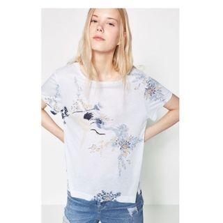 New Zara Oriental Top