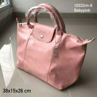 Tas Wanita Longchamp Handbag Leather High Quality