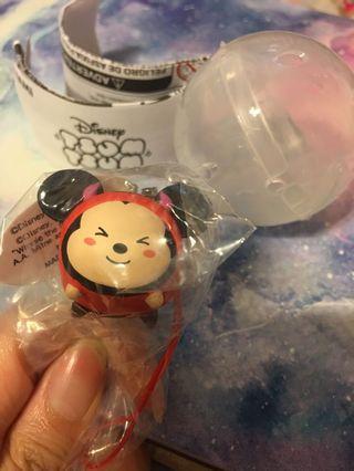 Disney tsum tsum (figurine) 公仔 鎖匙扣 扭蛋