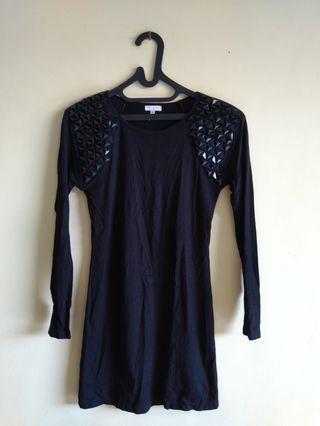 NEW! Midi Dress Black Size M #mauvivo