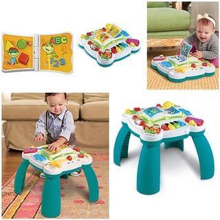FREE POST Leapfrog Bilingual Learn & Groove Musical Table
