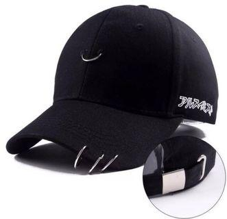 🚚 Black ring baseball cap
