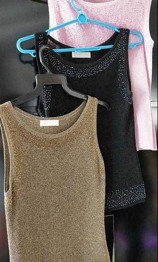 Brand New Classic Sequin Knit Top  $8/pc. All for $20