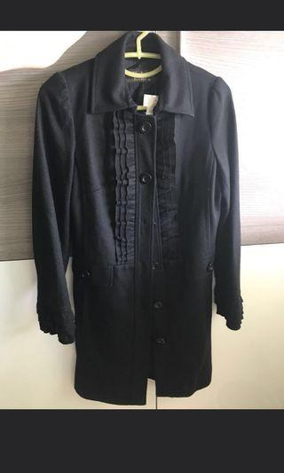 Brand New Veeko Long black women coat