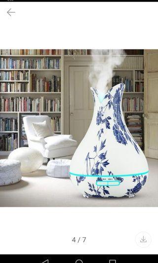 青花瓷香薰機Blue and white porcelain aromatherapy machine