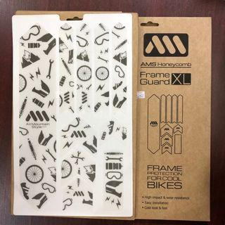 New: All Mountain Style (AMS) Honeycomb Frame Guards XL - JOYRIDE