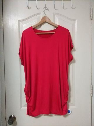 Plus Size Red Blouse (UK16)