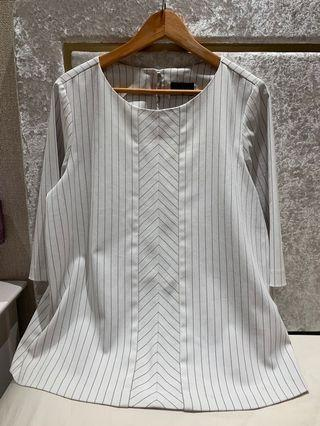 Ms Read A-Line Striped Top