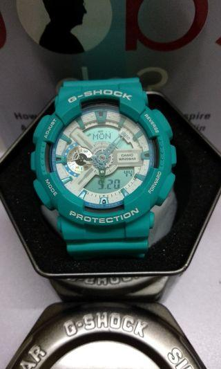 G-Shock GA-110SN Aqua Blue